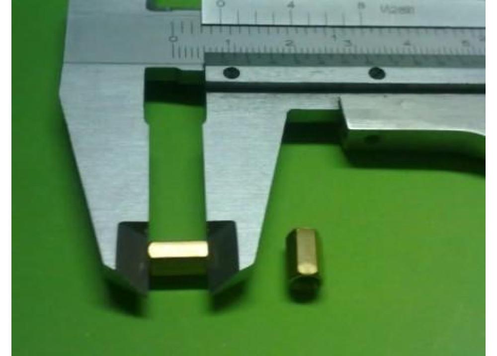 Spacer Brass M3 8mm 3mm 3mm FF