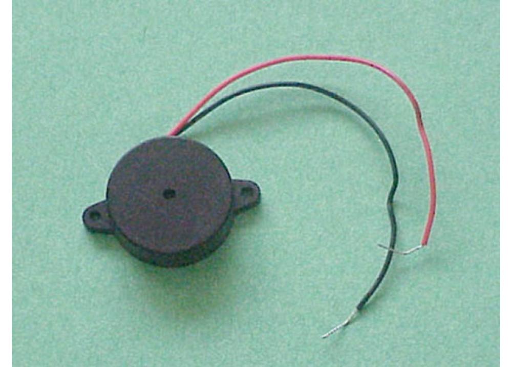 Buzzer 21A35 12V 23mm 13mm