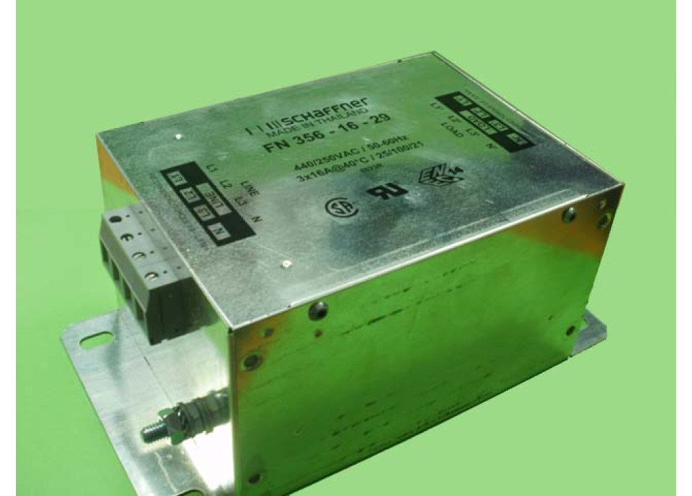 NOISE FILTER FN356 16 29 3 X16A 250VAC