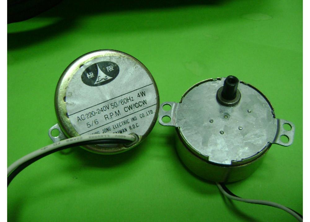 MOTOR 5/6RPM 220V/AC