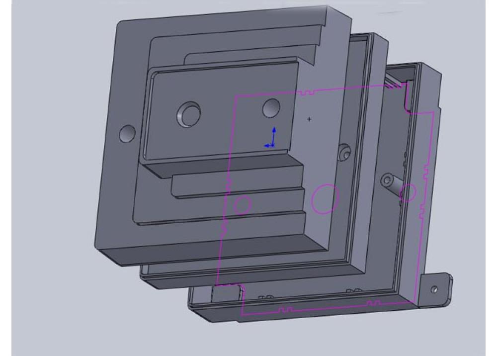 Enclosure Smart Box 3Pcs 10.7 7.4cm