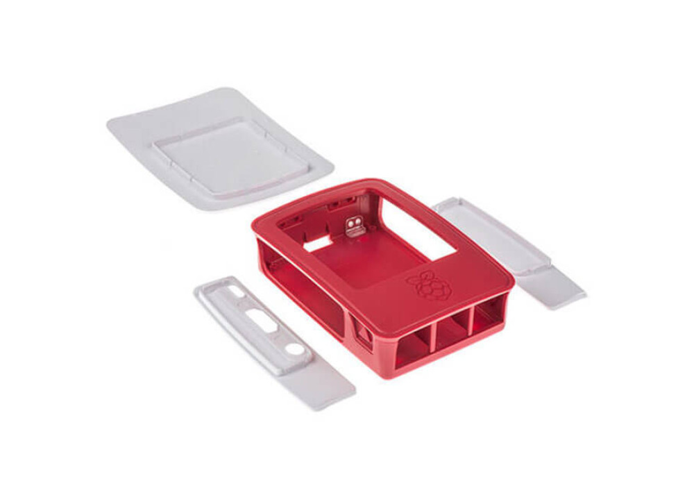 Official Raspberry Pi 3 B Case  Red & White