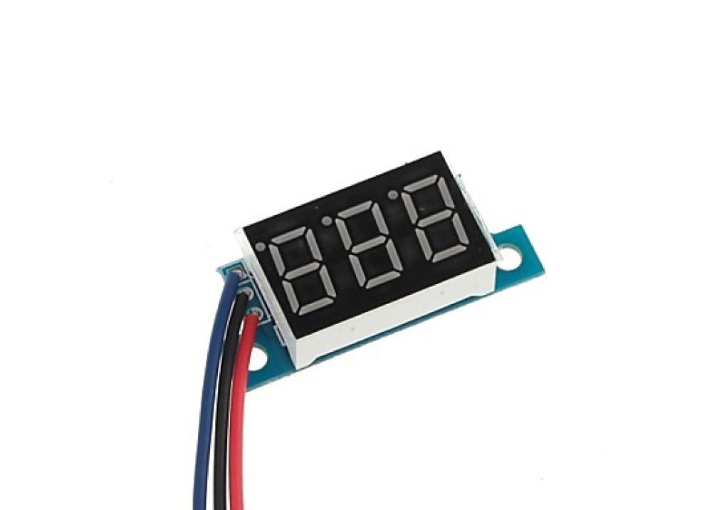 Mini Digital DC Volt Meter 0V~30V