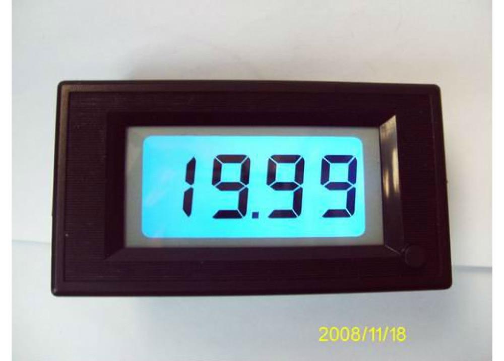 DIGITAL PANEL METER SDD79LCD-200mV-DT12V