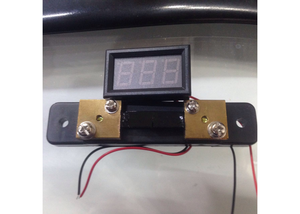 Digital DC Current Meter  50A