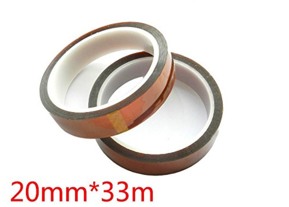 Heat Resistant  Kapton Tape 20mmX33M