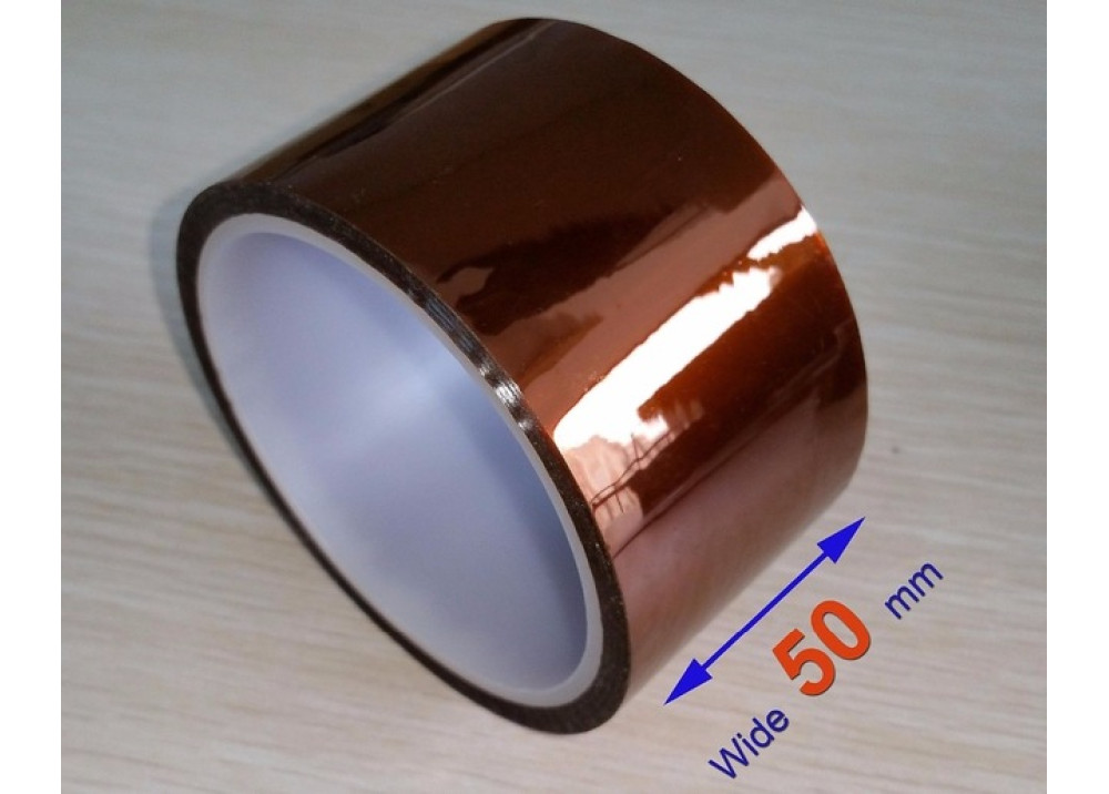 Heat Resistant  Kapton Tape 50mmX33M