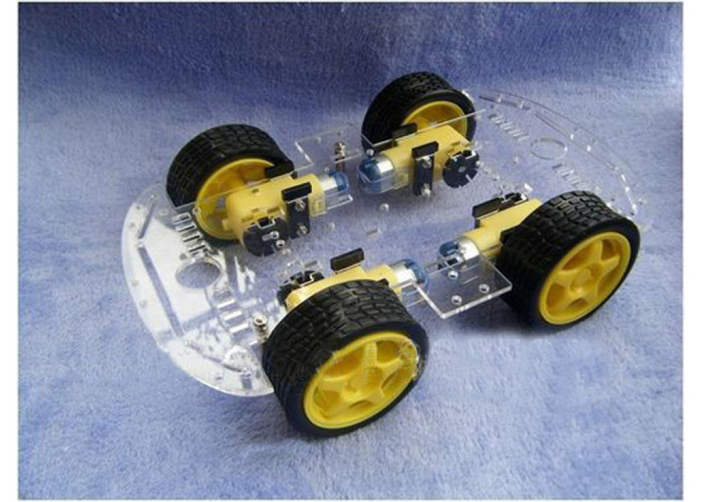 Robot 4Wheel Drive Chassis Kit