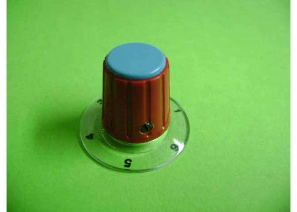Control Knob Potentiometer numeric 16mm