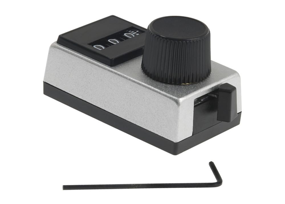 Knobs & Dials 10TURNS REC DIAL 3DIGIT 1/4