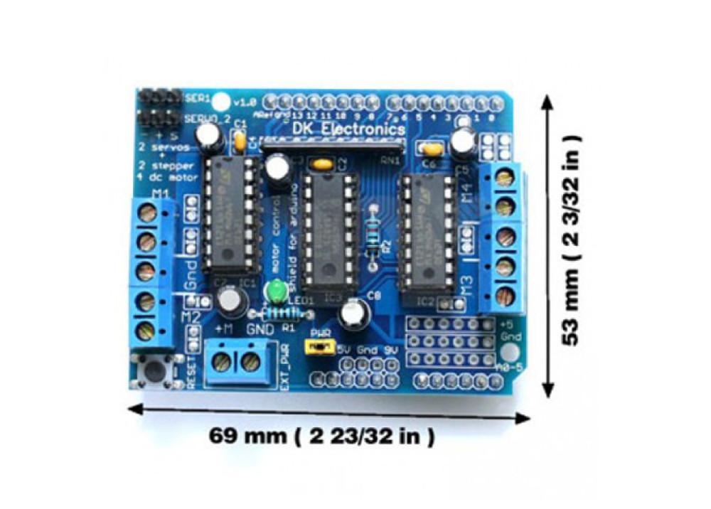 Arduino DC Stepper&Servo Motor Shield control L293D
