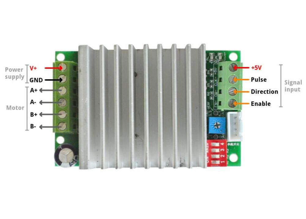 Stepper Motor Driver Controller TB6600-4.5A
