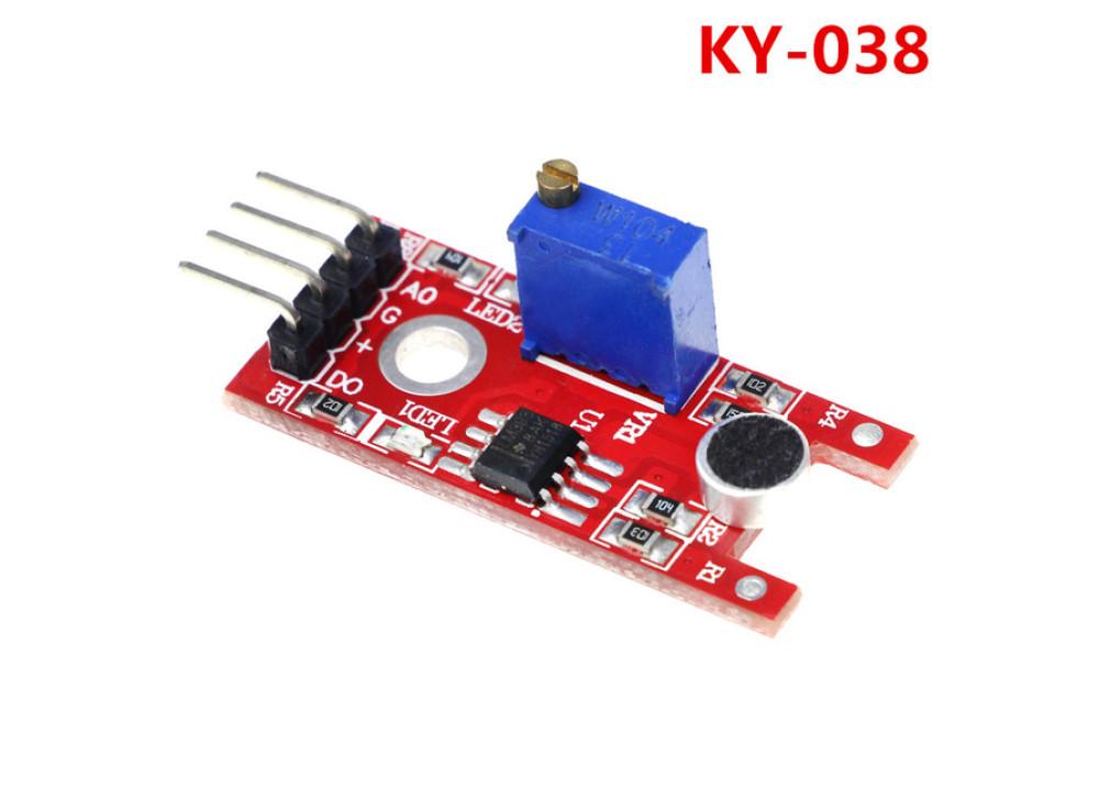 Mini Voice Sound Detection Sensor KY-038 4Pin for Arduino