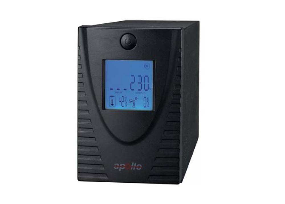 UPS APOLLO 650VA 390W LCD