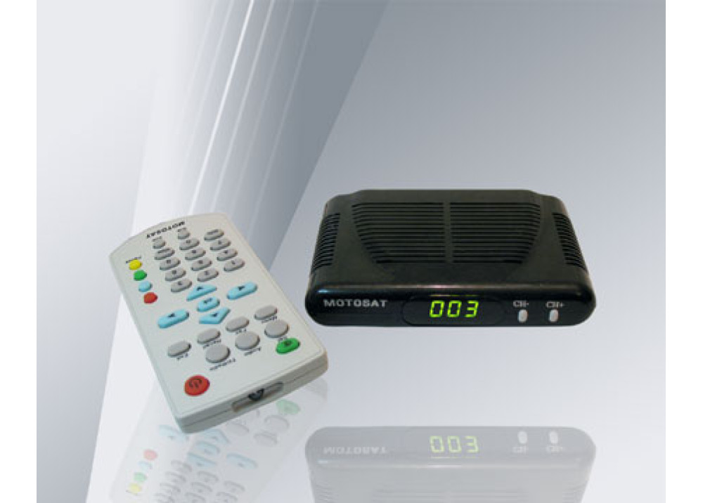 SATELLITE RECEIVER MOTOSAT X6