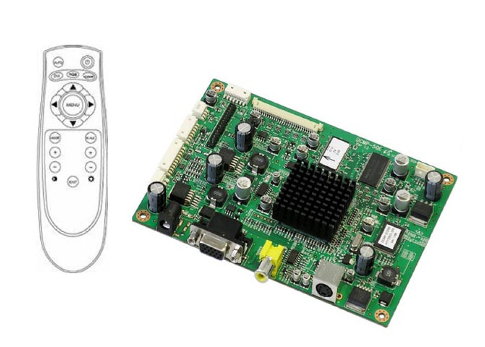 Display LCD CONTROLLER HDVX9-AS V4.2