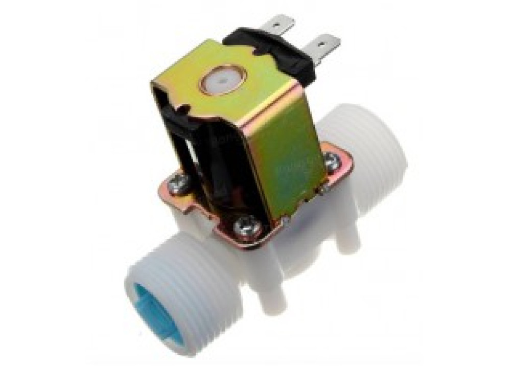 G3/4 12V PP Normally Closed Type Solenoid Valve Water Diverter Device  For Arduino