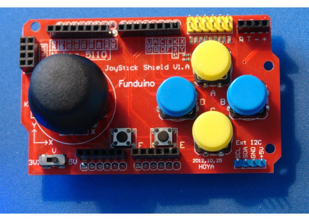 Funduino Joystick Shield V1.A for Arduino