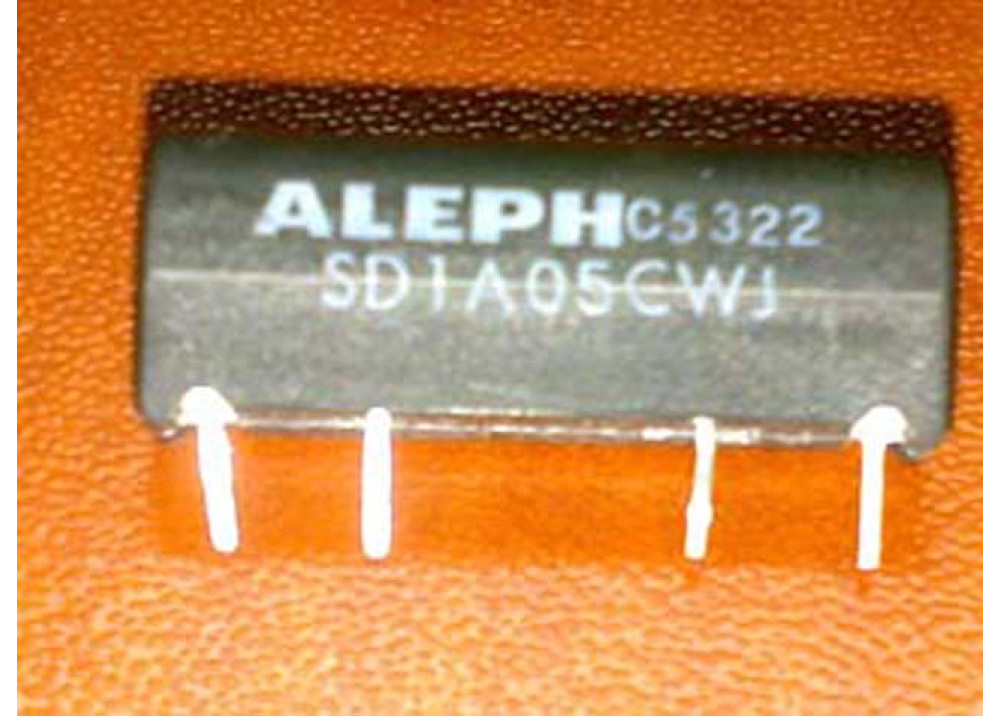 REED RELAY 5V 1A 4P