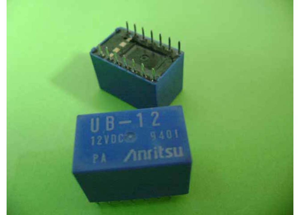 RELAY UB-12 12V 14P
