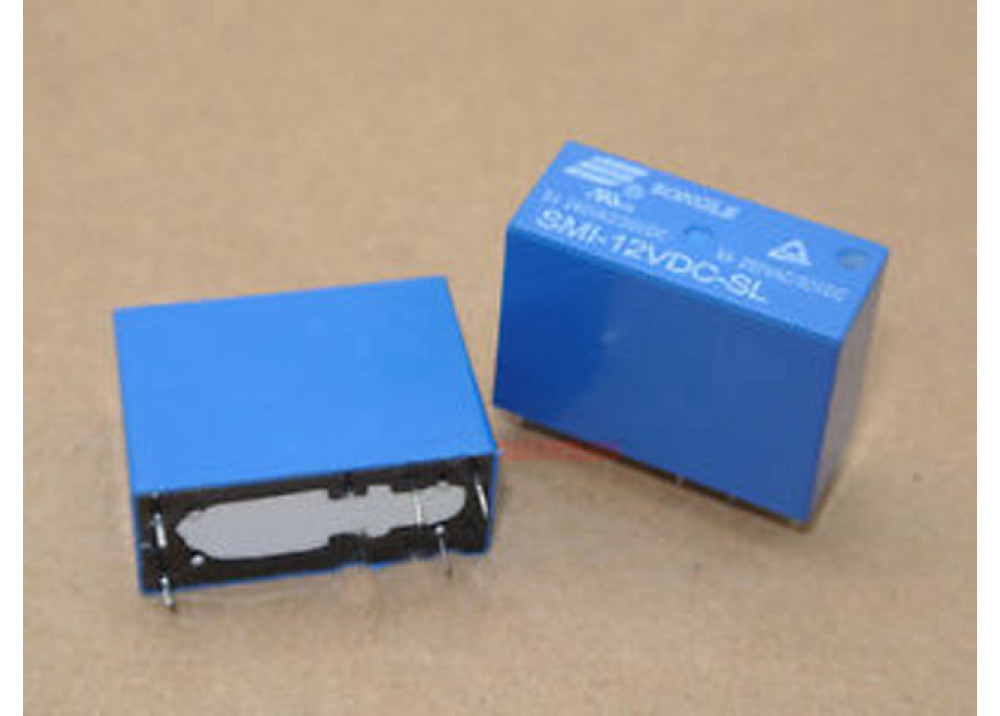 RELAY SONGLE 14F SMI-12VDC-SL-1C 12V 10A 5P
