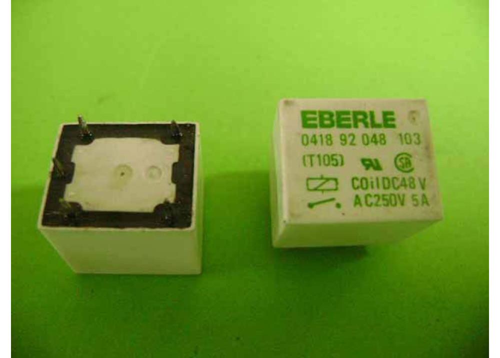 RELAY EBERLE 48V 5A 5P