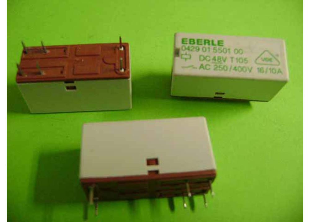 RELAY EBERLE 48V 16A 6P