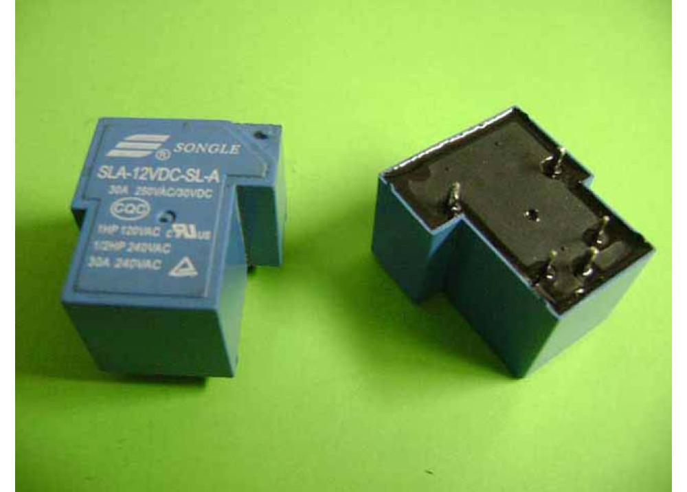 RELAY SONGLE  SLA-12VDC-SL-A  T90 12V 30A 5P