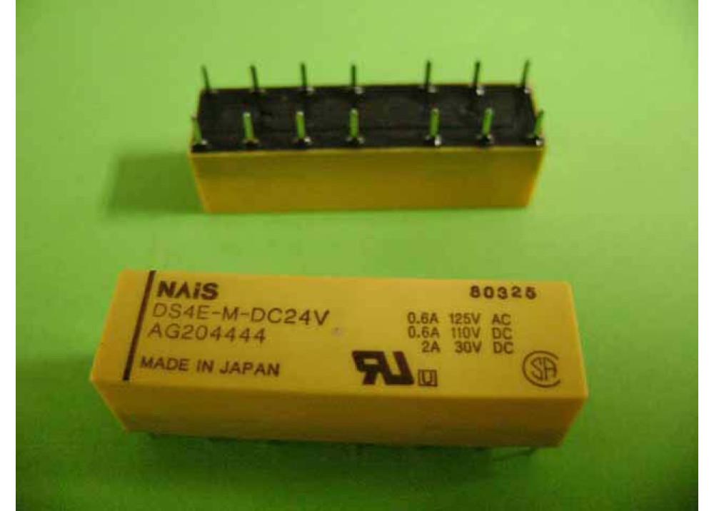 RELAY NAIS DS4E-M-DC24V 24V 2A 30V 14P