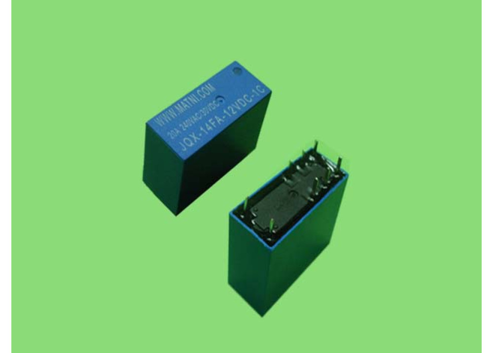 RELAY 12V 20A 8P 1C JOX
