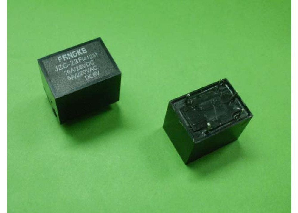 RELAY JZC-23F T73 6V 5A 5P