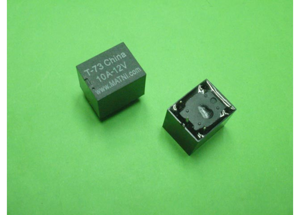 RELAY T-73 12V 10A 5P