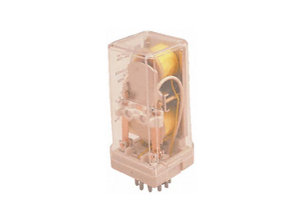 DPCO latching relay,10A 12Vdc coil