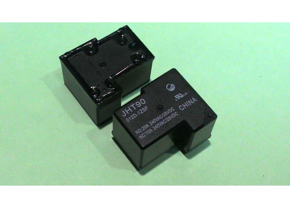 Relay 12V 20A 5P JQX-15F(T90)-20A-1C-DC12V