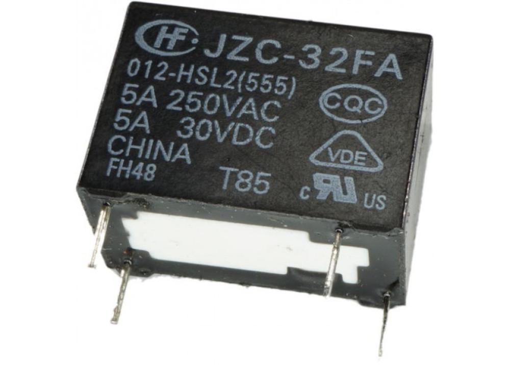 RELAY JZC-32F-012-HS3 HONGFA 5A 250VAC 5A30VDC 4P
