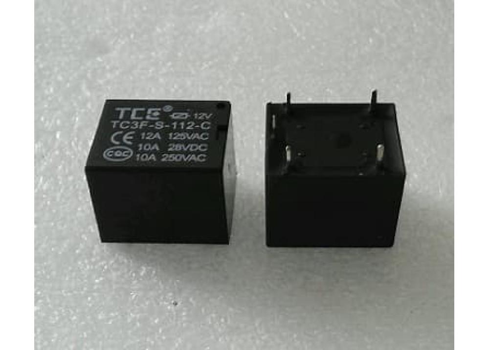 RELAY T73 TCE TC3F-S-112-C 12V 10A 5P