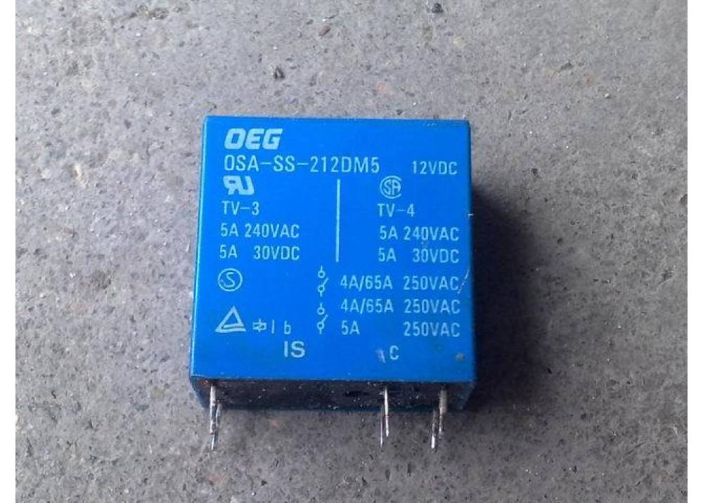 RELAY OEG  OSA-SS-212DM5 12V 5A 6P