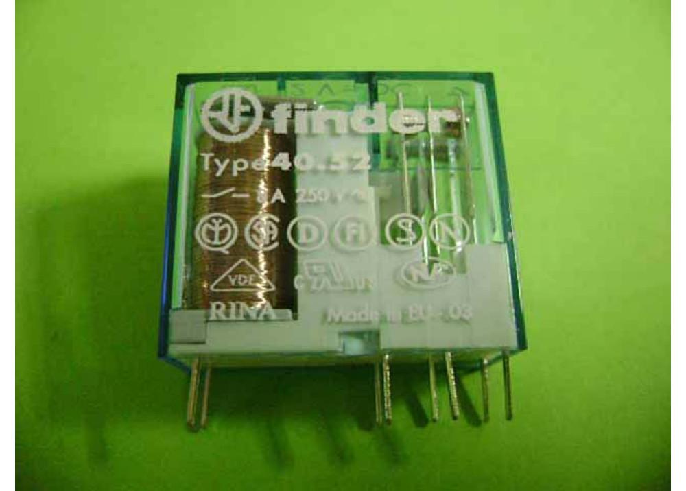 RELAY FINDER 12V 8A (40.52.9.012)