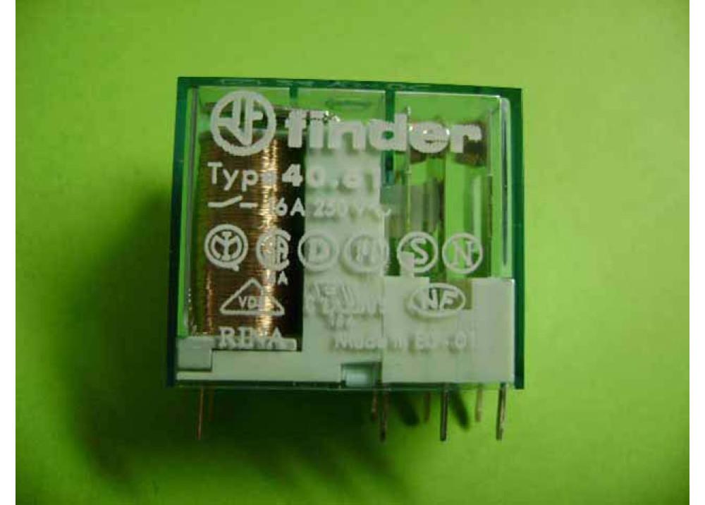 RELAY FINDER 24V 16A (40.61.9.024)