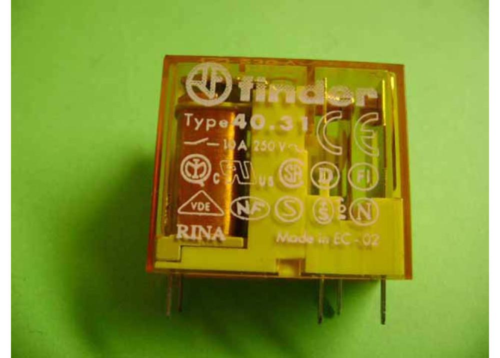 RELAY FINDER 230V 10A (40.31.8.230)
