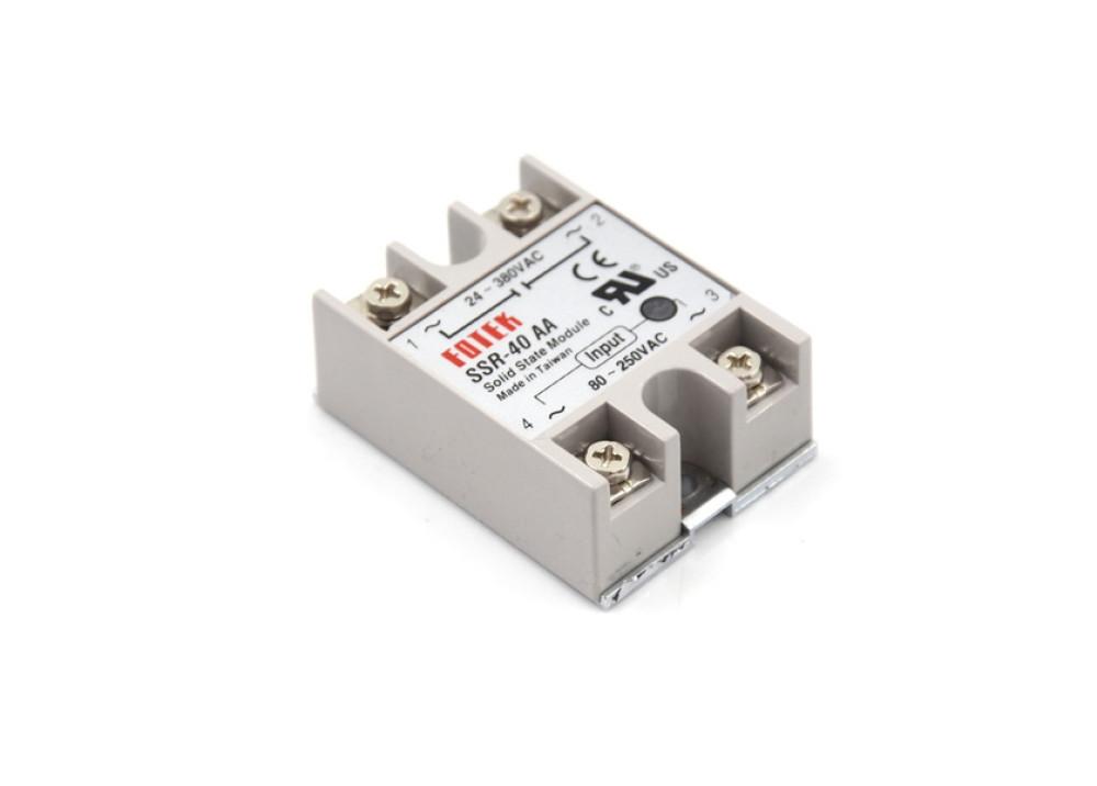 SSR-40AA 400V 40A 80V~250VAC