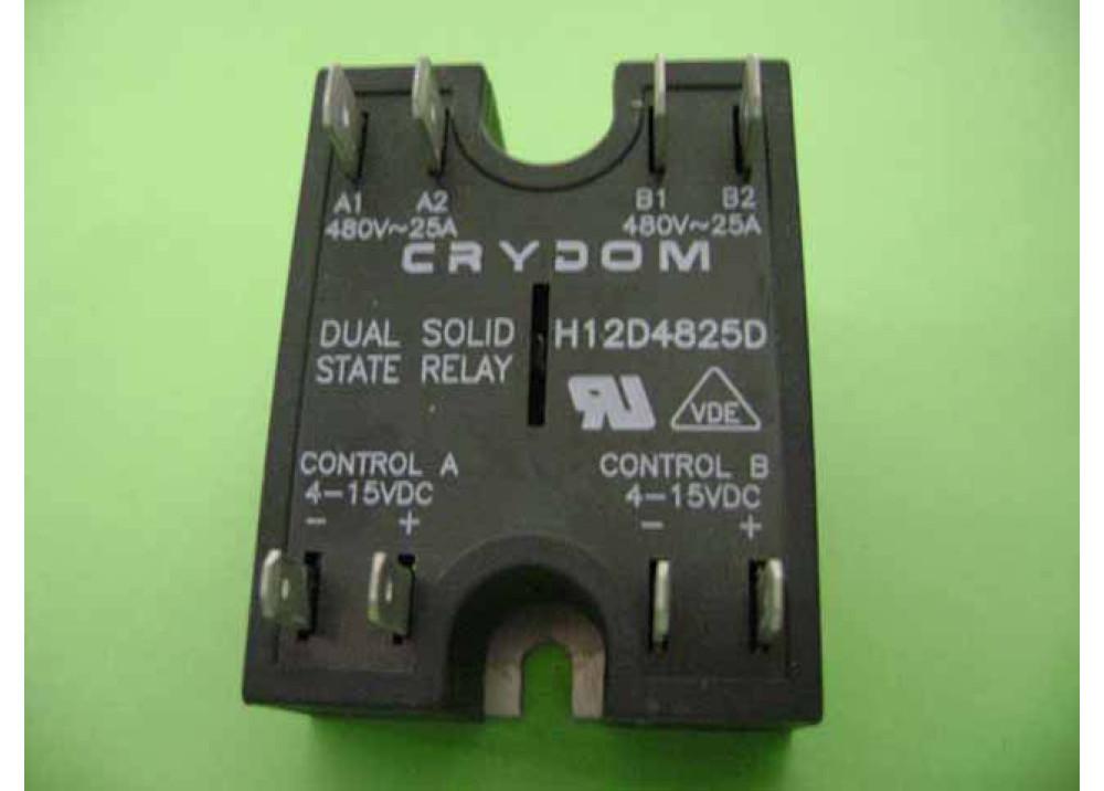 Crydom RELAY SSR H12D4825D 480V 25A 4 15VDC
