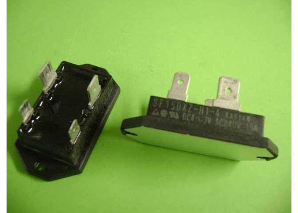 SOLID STATE MITSUBISH SF15DXZ H1 4 240V 15A 4-7VDC
