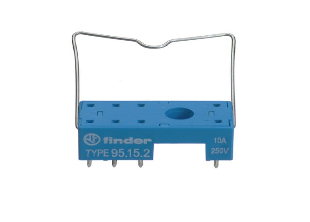 RELAY SOCKET FINDER PCB 8P 95.15.2.SMA