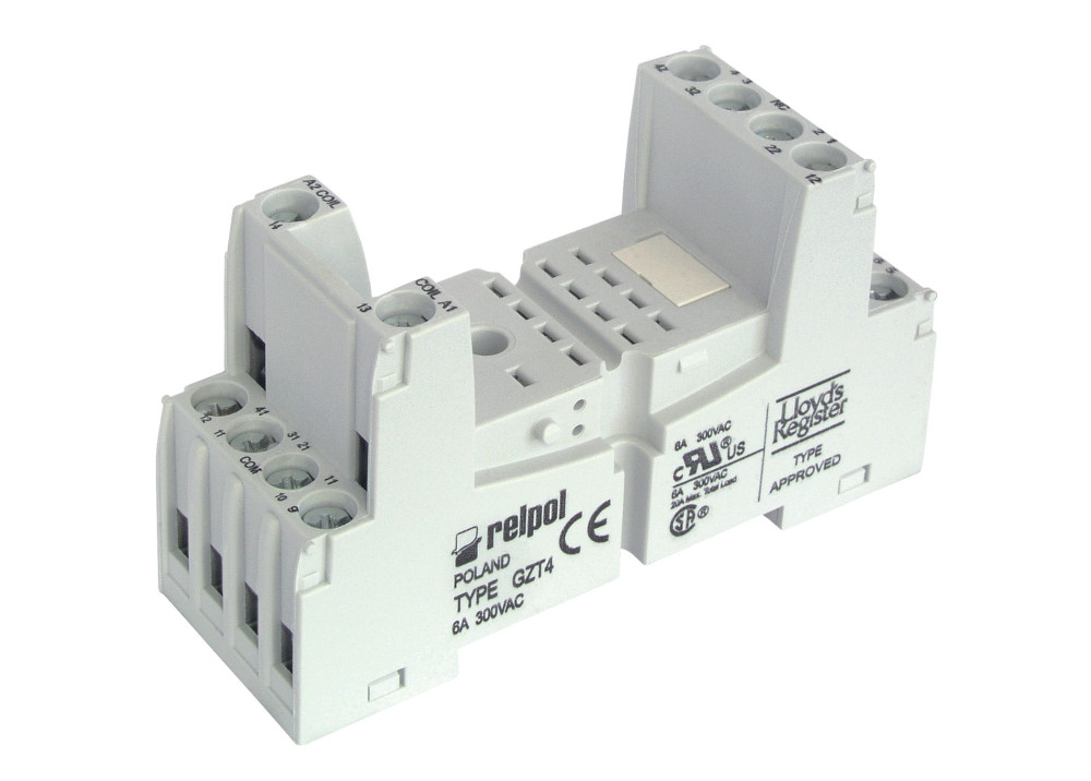 Relpol Relay Socket GZT4 14P