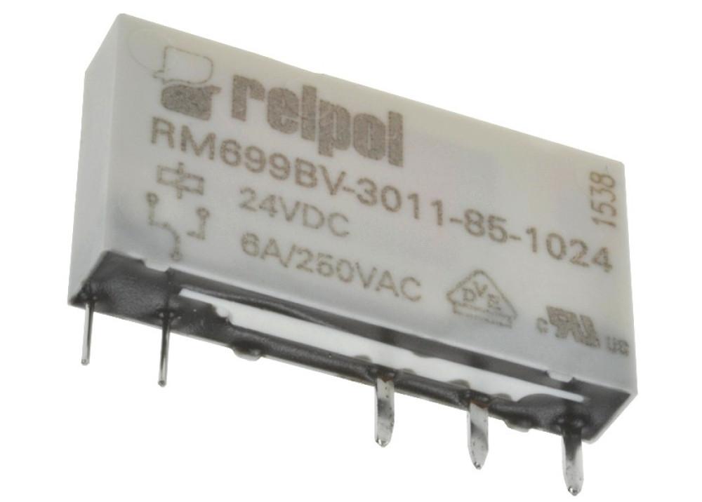 Relpol Relay 24VDC 6A 250VAC 5P RM699BV-3011-85-1024