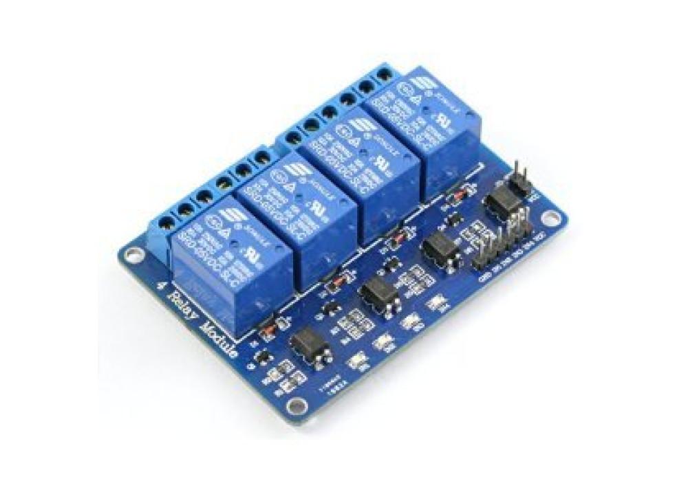Arduino & Raspberry Relay Module 5V 10A 4CH