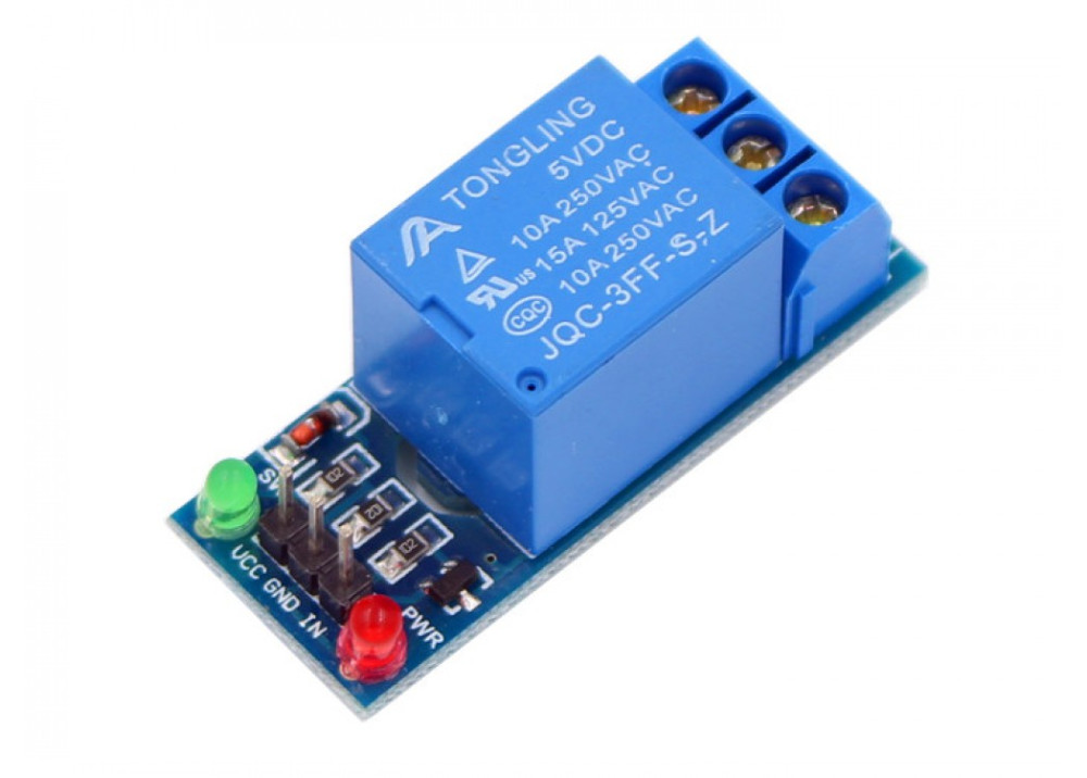 Arduino Relay Module 5V 10A 1CH With LEDs