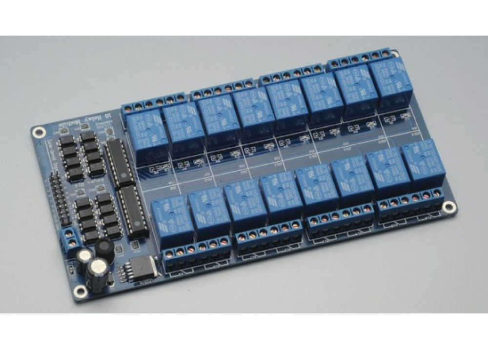 Arduino Relay T73 Module Board 16CH SRD-5VDC-SL-C  5VDC 10A
