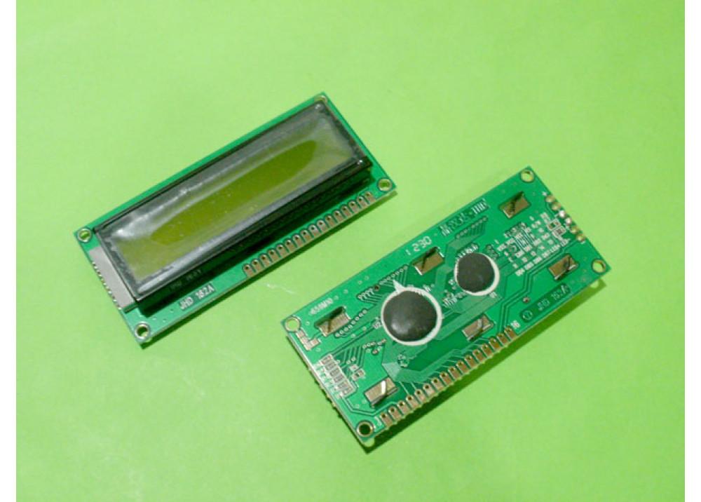LCD CHRACTER  JHD162A 16X2